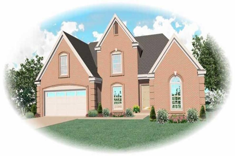 Main image for house plan # 10394