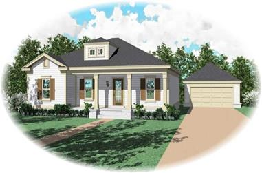 3-Bedroom, 1437 Sq Ft Ranch Home Plan - 170-2724 - Main Exterior