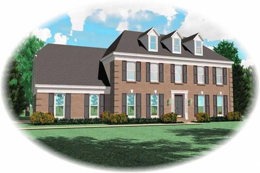 Main image for house plan # 10305