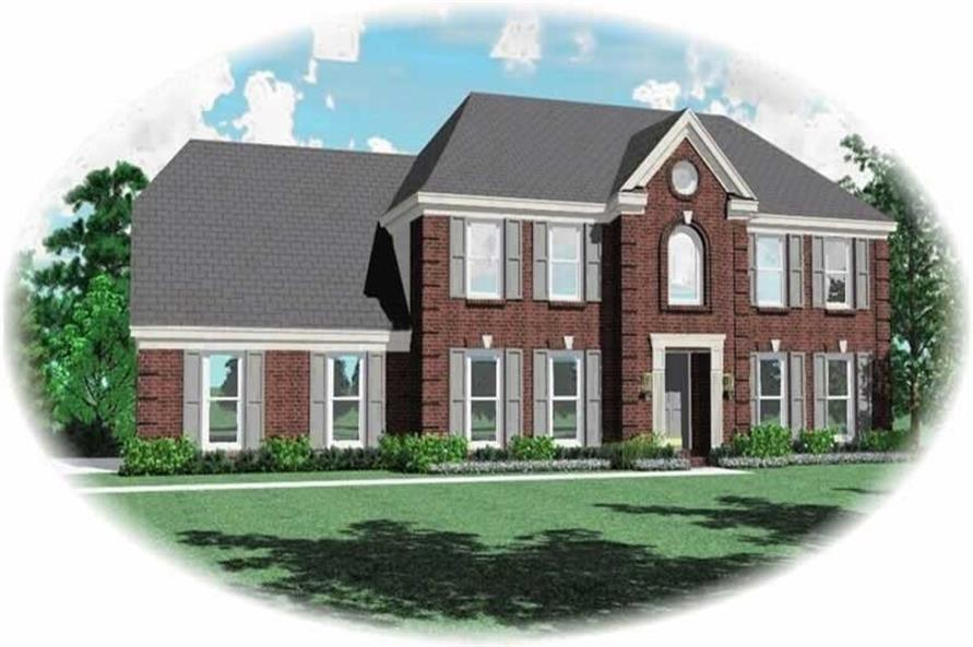Main image for house plan # 10321