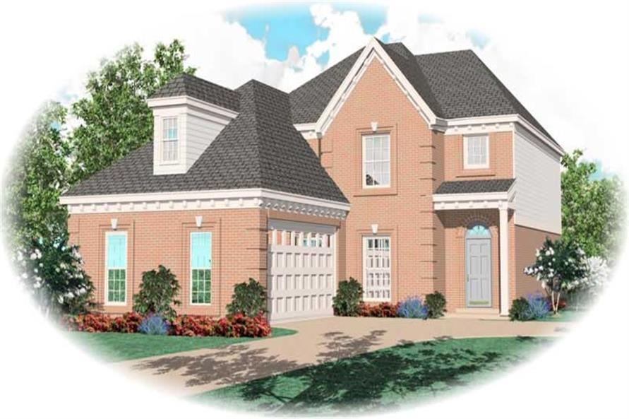 Main image for house plan # 10288