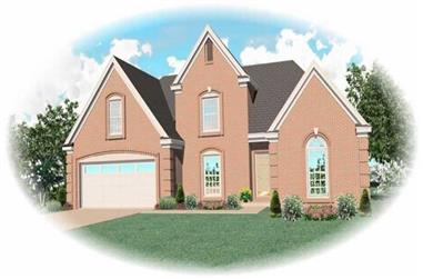 3-Bedroom, 2134 Sq Ft Contemporary Home Plan - 170-2751 - Main Exterior