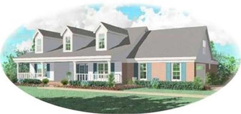 Main image for house plan # 8302