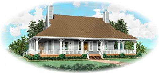 Main image for house plan # 10324