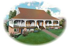 Main image for house plan # 10367