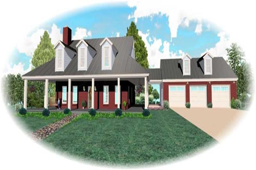 Main image for house plan # 10448