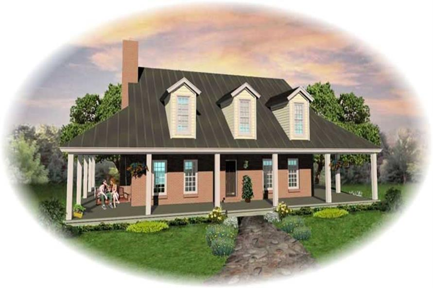 Main image for house plan # 10447