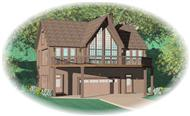 Main image for house plan # 10381