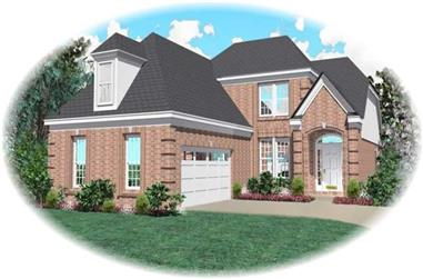 3-Bedroom, 2347 Sq Ft Traditional Home Plan - 170-2797 - Main Exterior