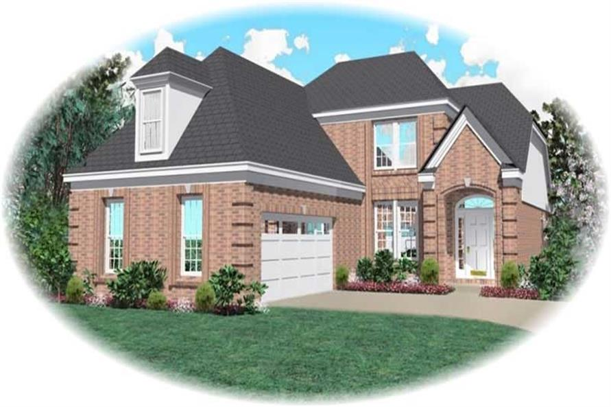 Main image for house plan # 10380
