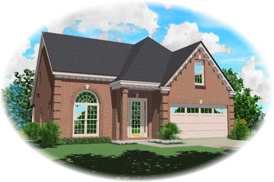 Main image for house plan # 10369