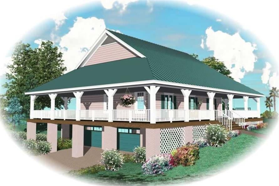 Main image for house plan # 10366