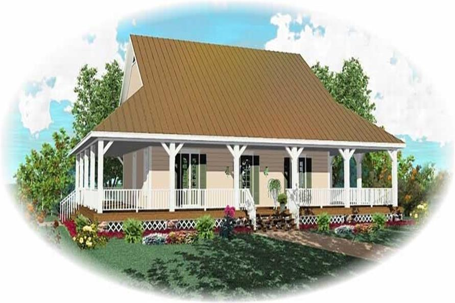 Main image for house plan # 10334