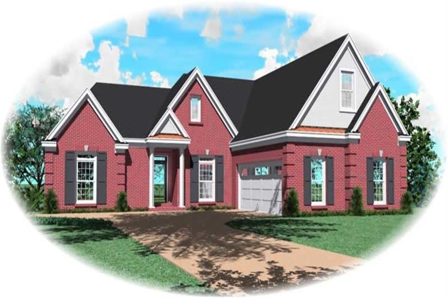 Main image for house plan # 10469