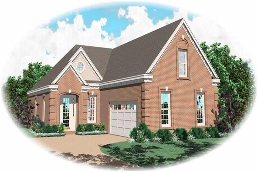 Main image for house plan # 10456