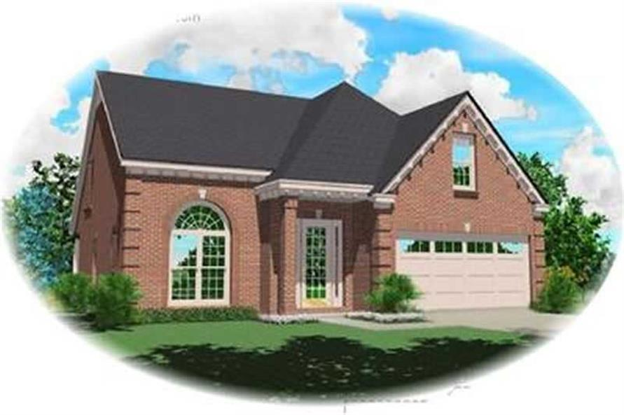 Main image for house plan # 8365