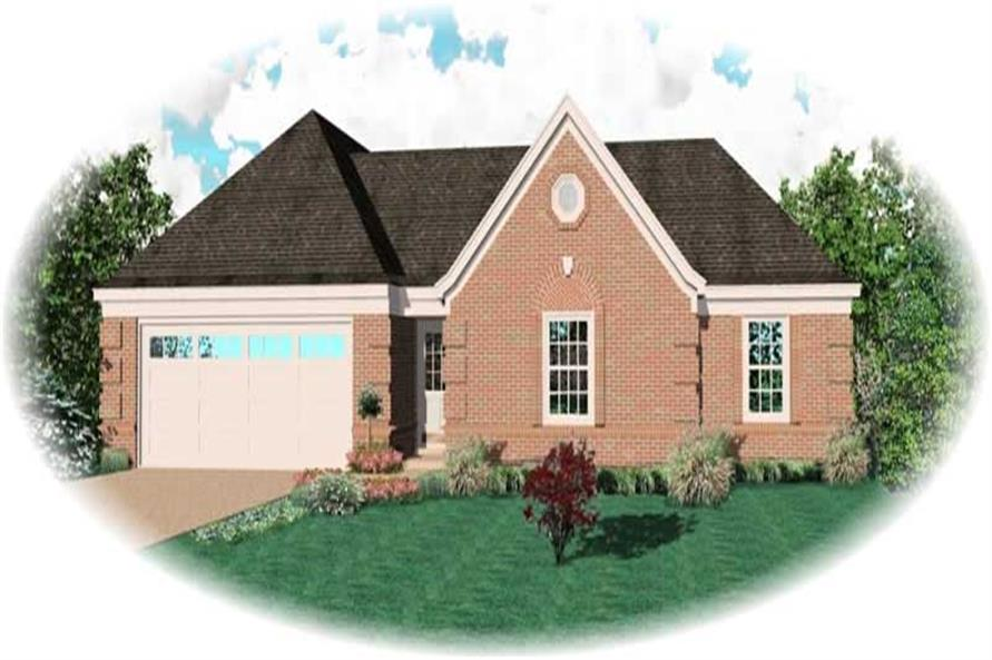 Main image for house plan # 10438