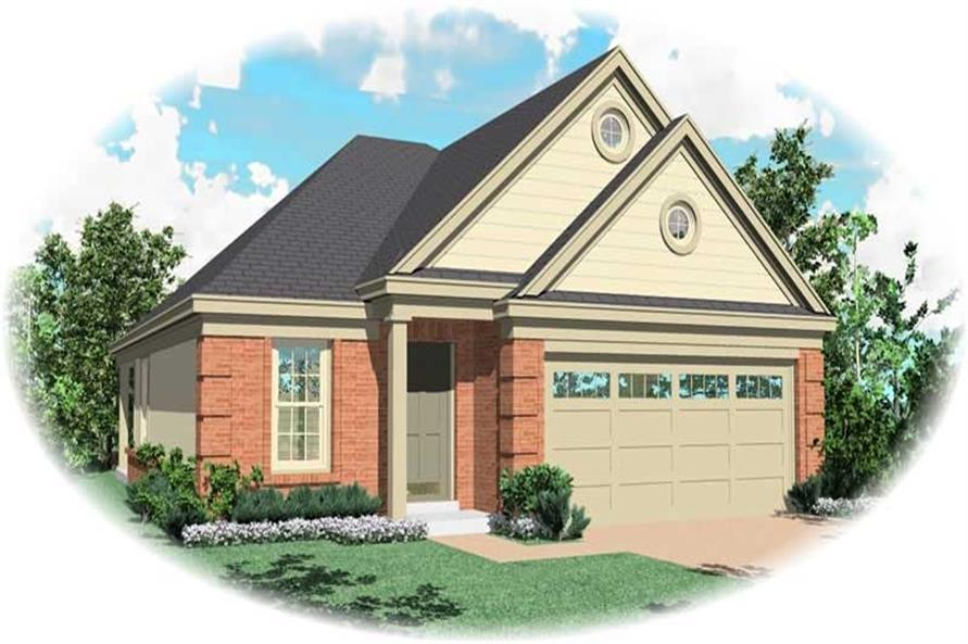 Main image for house plan # 10153