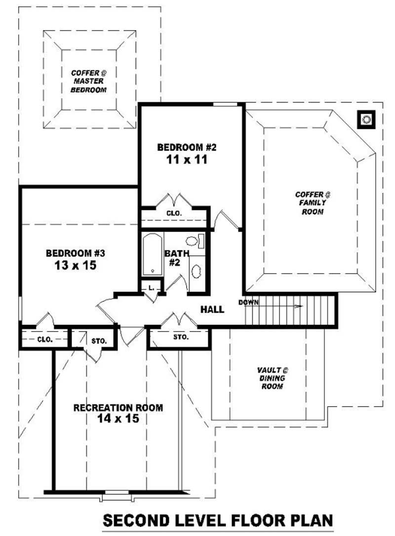 Traditional french house plans home design su b1294 780 for 780 square feet house plan