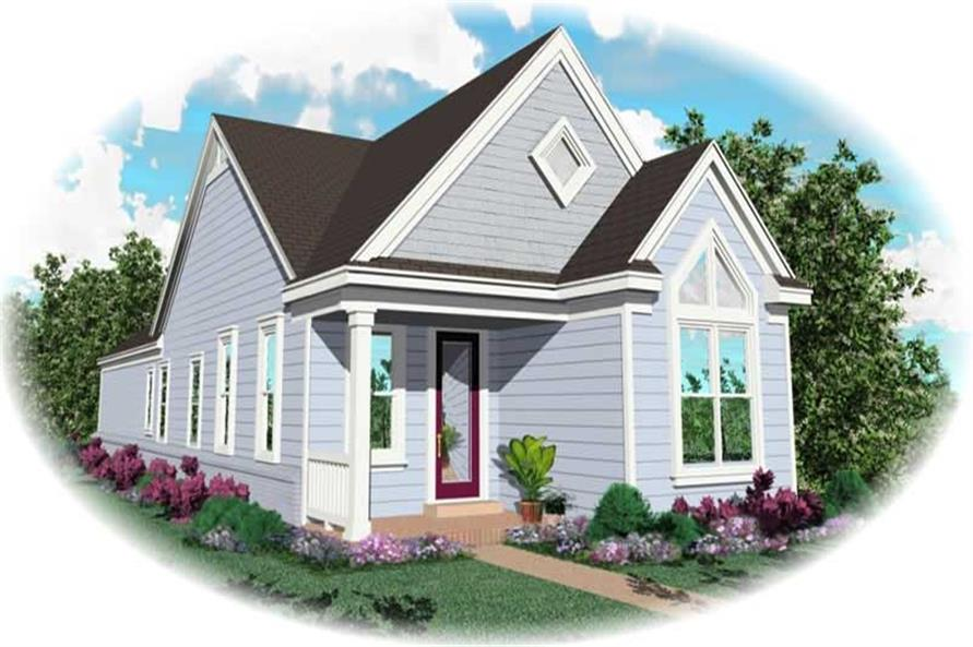 Main image for house plan # 10124