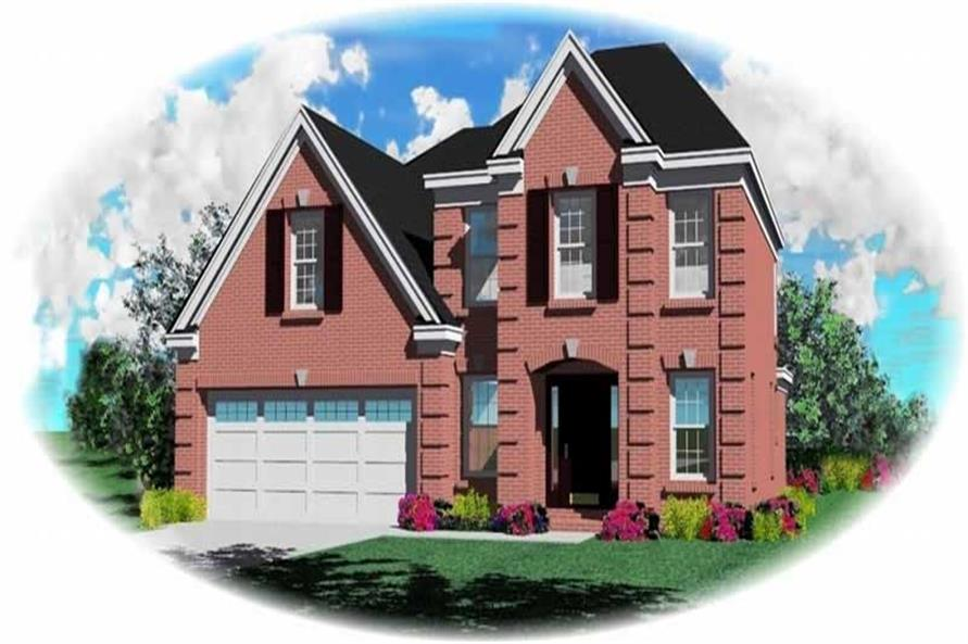 Main image for house plan # 10121