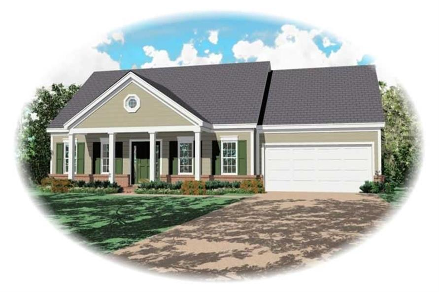 Main image for house plan # 10113