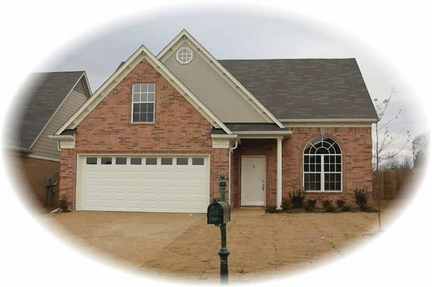 3-Bedroom, 1752 Sq Ft Home Plan - 170-2847 - Main Exterior