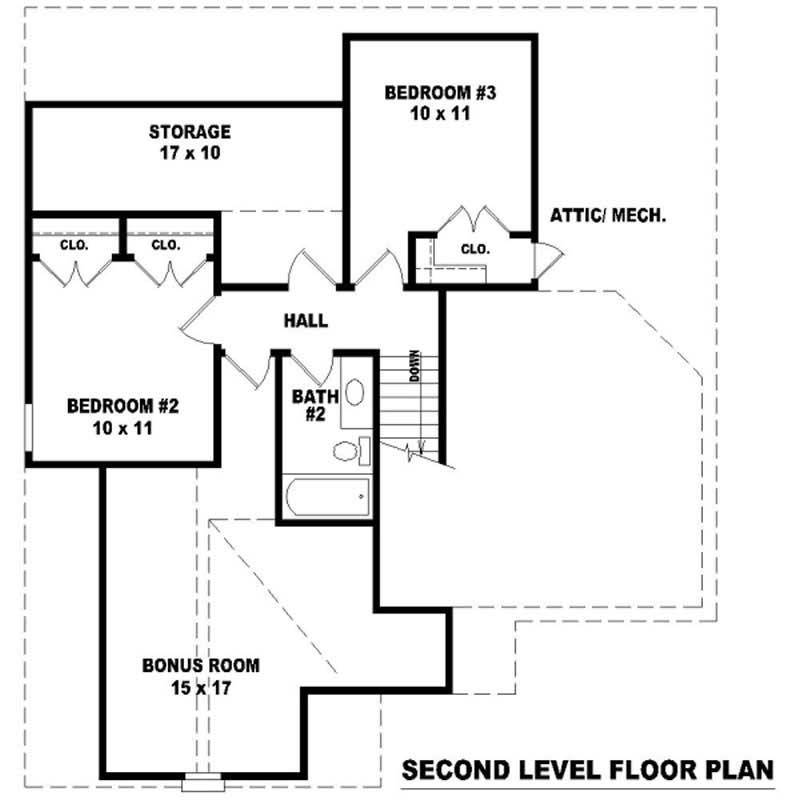 Multi level french country house plans home design su for Multi level home floor plans
