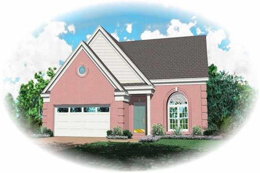 Main image for house plan # 10058