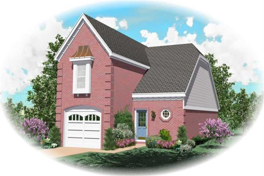 Main image for house plan # 10030