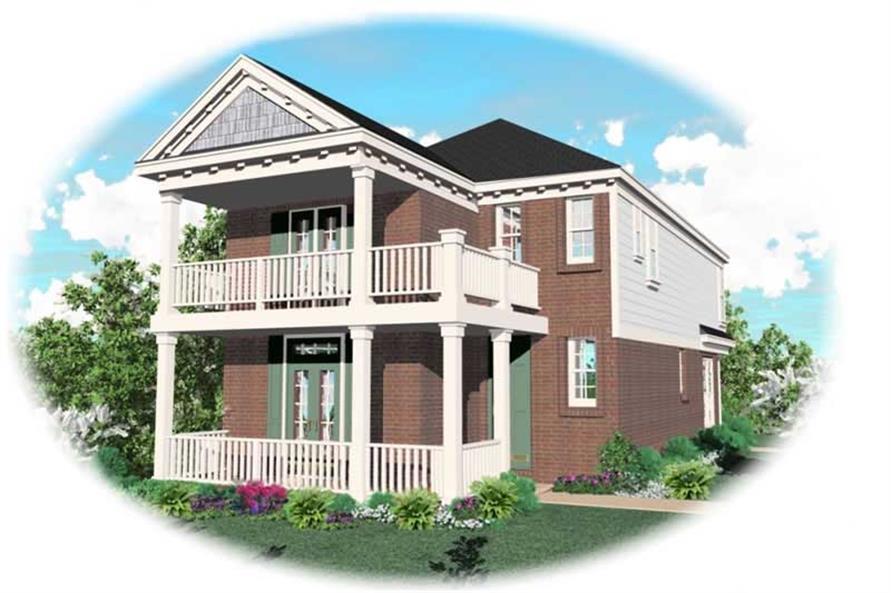 4-Bedroom, 1867 Sq Ft Coastal Home Plan - 170-2877 - Main Exterior