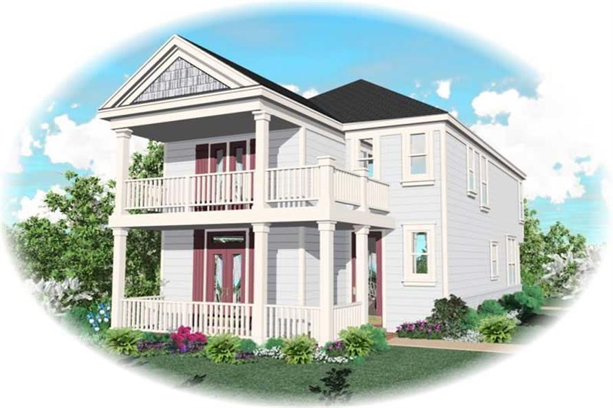 Main image for house plan # 10048