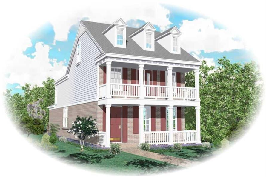 Main image for house plan # 10043