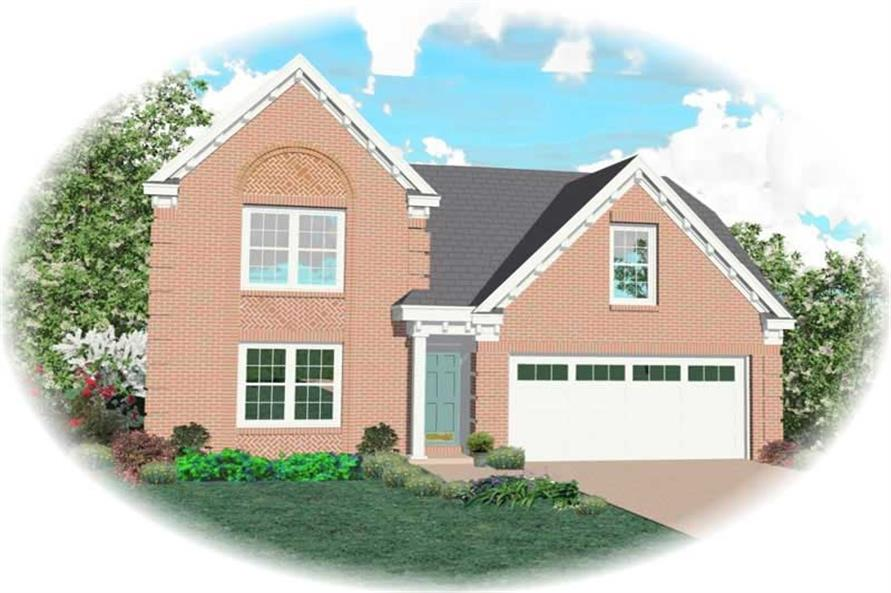Main image for house plan # 10028