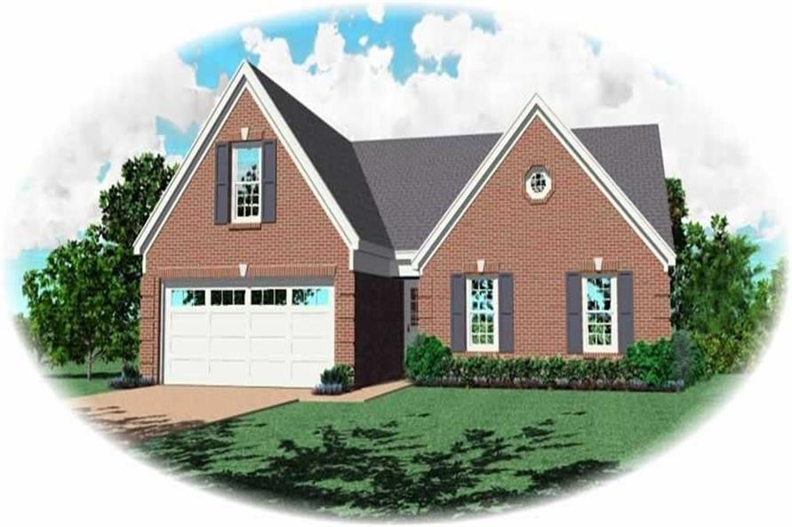 Main image for house plan # 10226