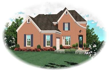 3-Bedroom, 2364 Sq Ft Country Home Plan - 170-2900 - Main Exterior