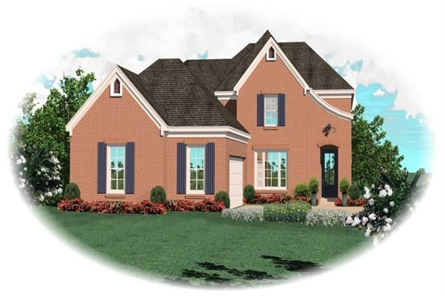 Main image for house plan # 10102