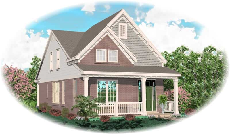 House plan 170 2912 4 bedroom 1849 sq ft coastal for 4 bedroom cape cod house plans