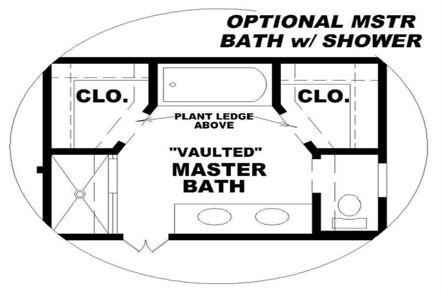 BATHROOM of this 3-Bedroom,1826 Sq Ft Plan -1826