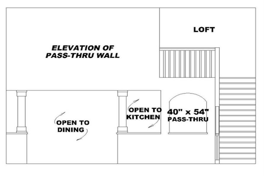 WALL of this 3-Bedroom,1826 Sq Ft Plan -1826