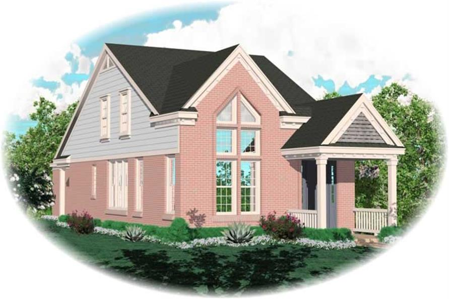 Main image for house plan # 10071