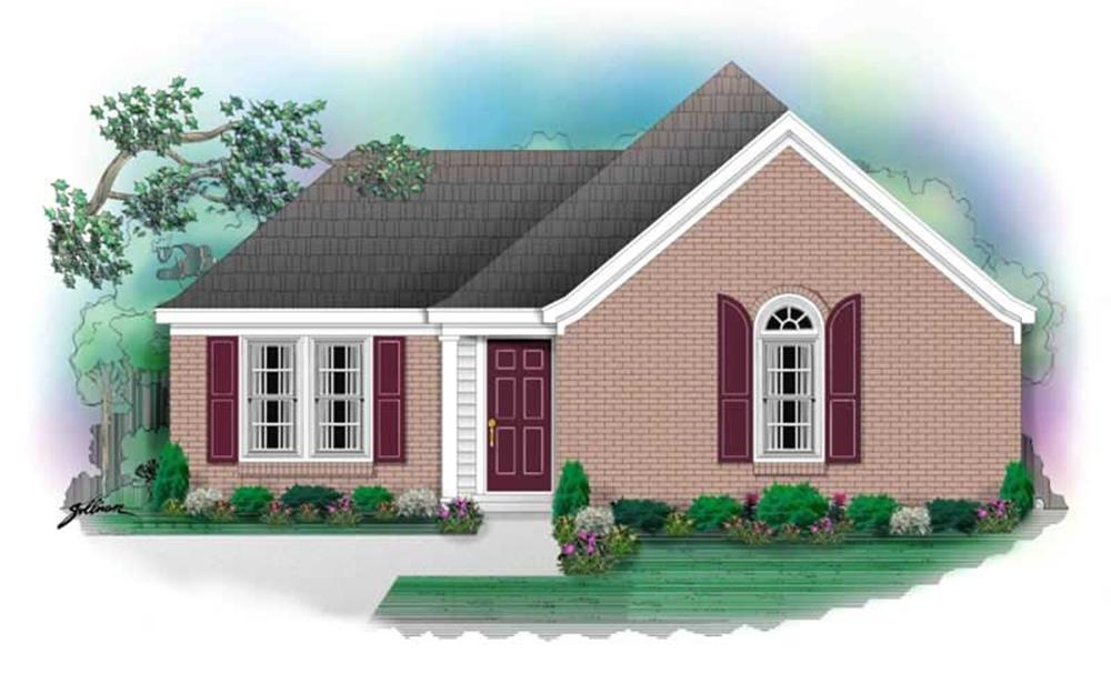 Main image for house plan # 10127