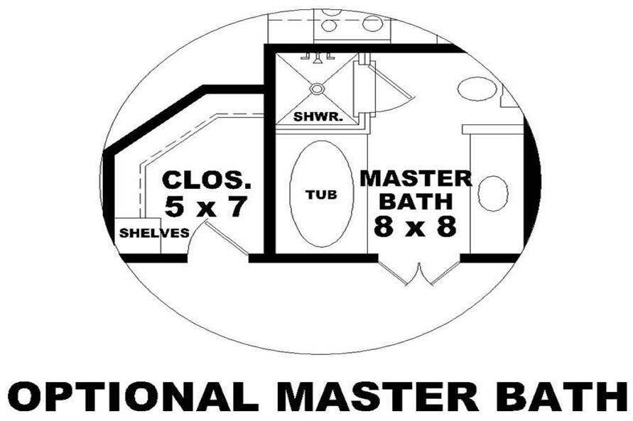 OPTIONAL MASTER BATHR00M