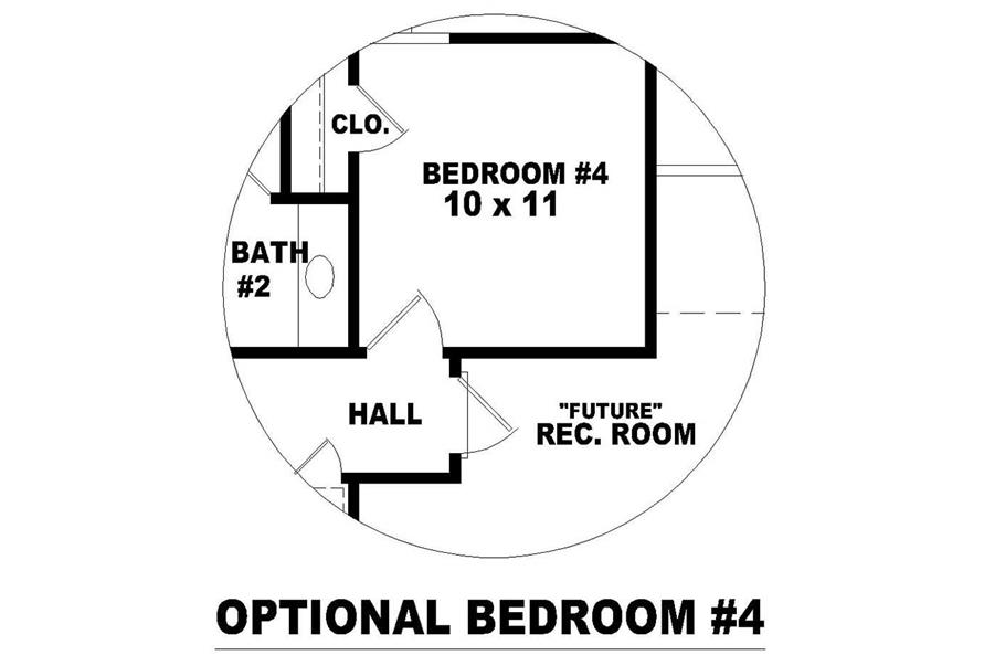 OPTIONAL BEDROOM