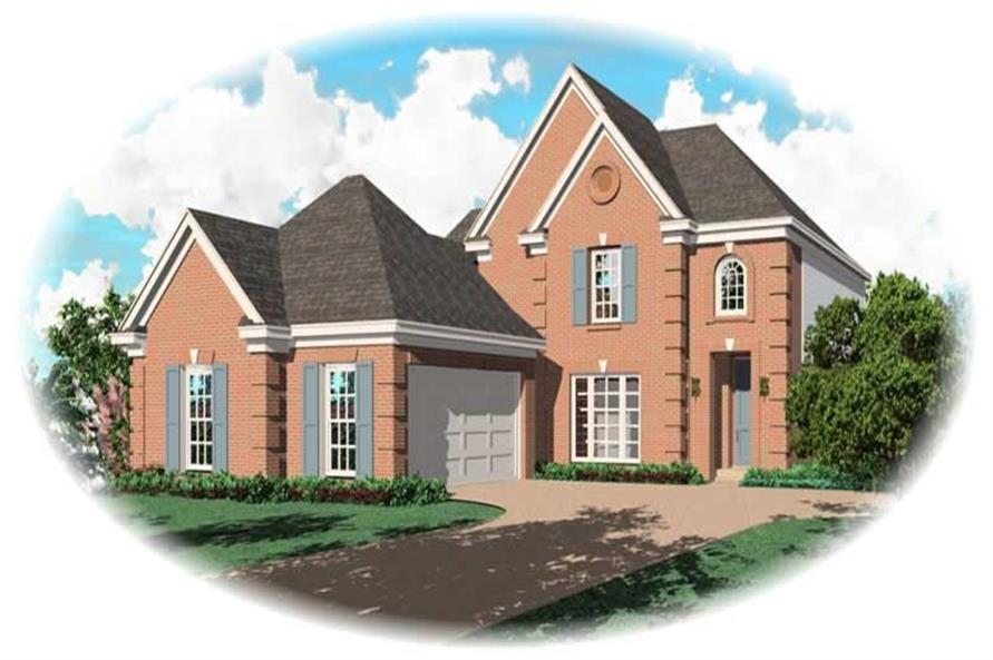Main image for house plan # 10101