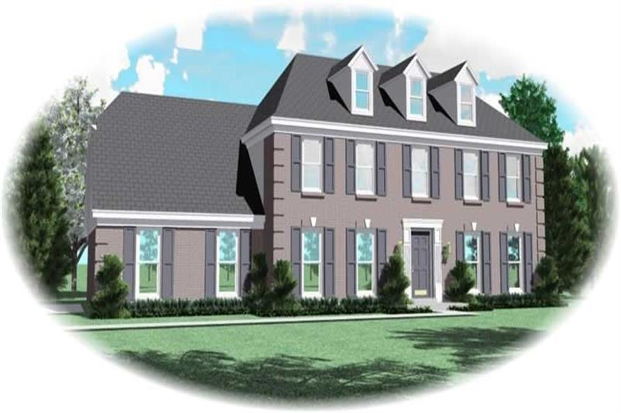 4-Bedroom, 2724 Sq Ft House Plan - 170-2951 - Front Exterior
