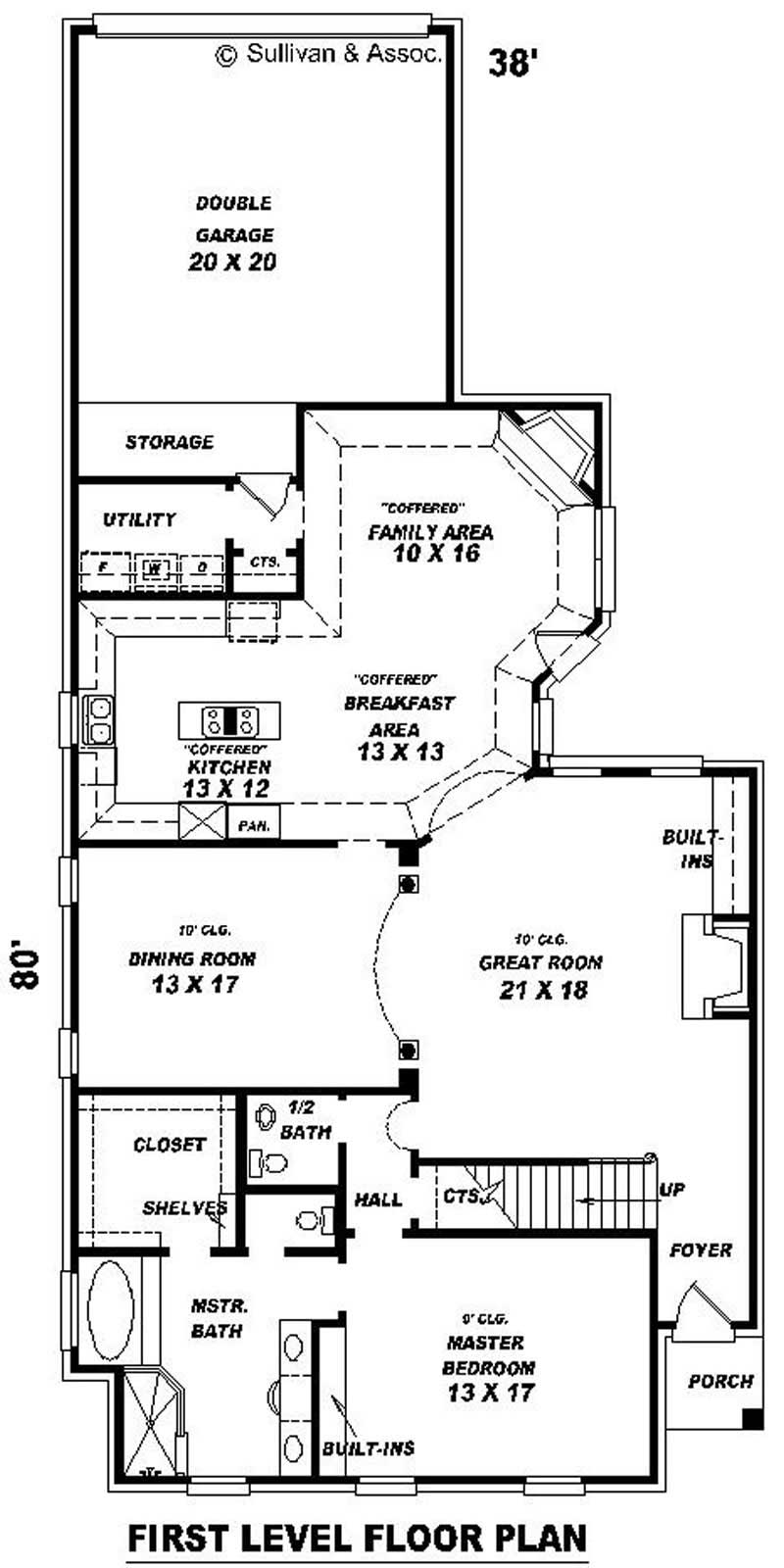 French house plans home design su b1949 871 528 w 10193 for 528 plan
