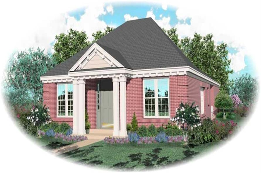 Main image for house plan # 10183