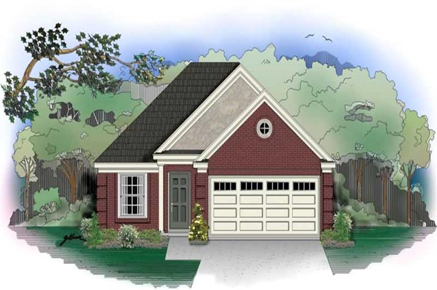 Main image for house plan # 10132