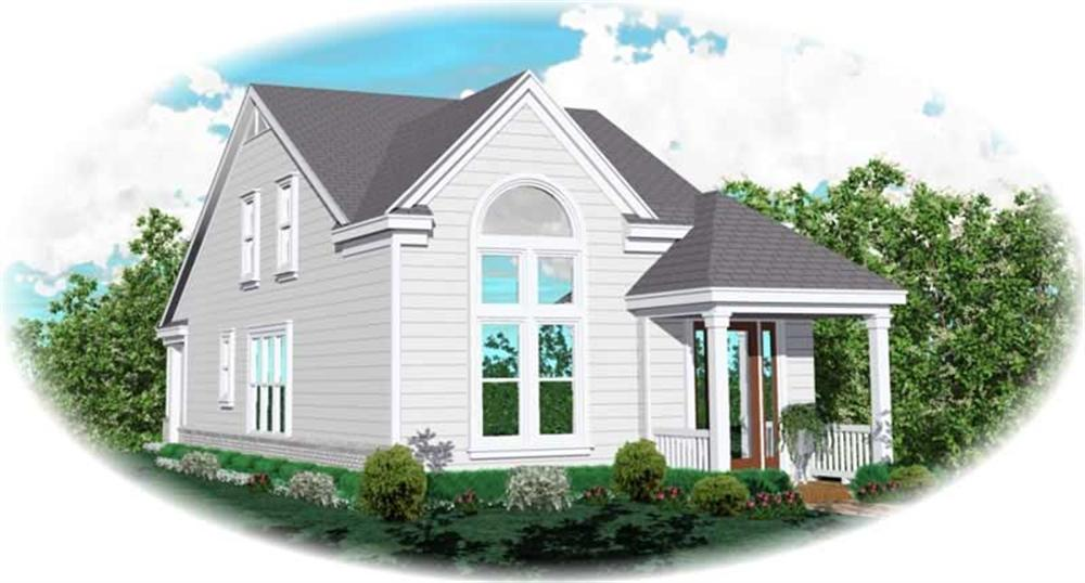 Main image for house plan # 10075